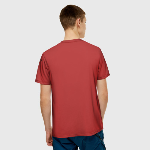 Мужская футболка 3D  Фото 02, Избушка