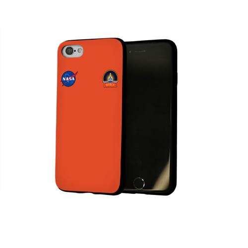 Чехол для Apple iPhone 8 силиконовый глянцевый NASA Фото 01