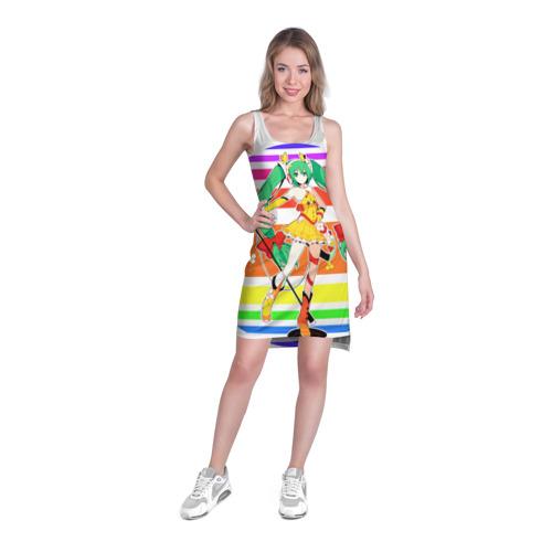 Платье-майка 3D  Фото 03, Веселая Хатсуне Мику