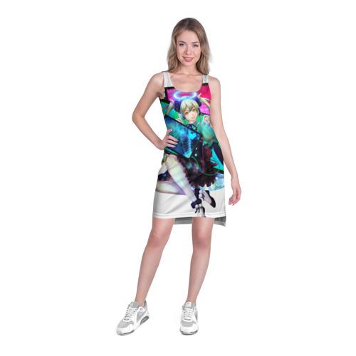 Платье-майка 3D Яркая Хатсуне Мику Фото 01