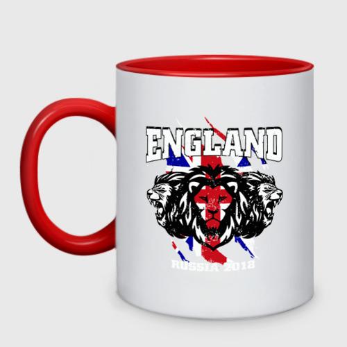 Кружка двухцветная England