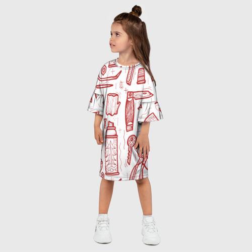 Детское платье 3D  Фото 03, Инструменты