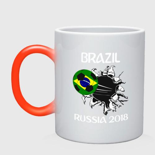 Кружка хамелеон  Фото 01, Сборная Бразилии