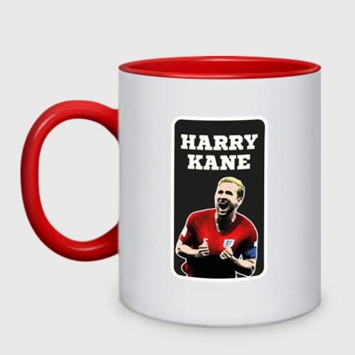Кружка двухцветная Harry Kane