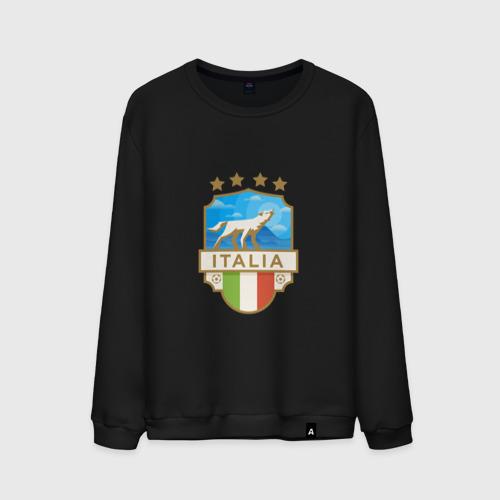 Мужской свитшот хлопок Футбол - Италия Фото 01