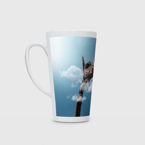 Кружка Латте Жираф и самолет