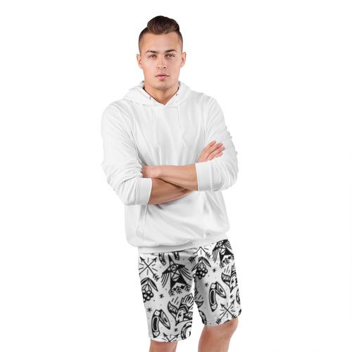 Мужские шорты 3D спортивные  Фото 05, Сибирь