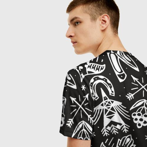 Мужская футболка 3D Сибирь Фото 01