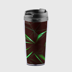 STRIPES GREEN 3D