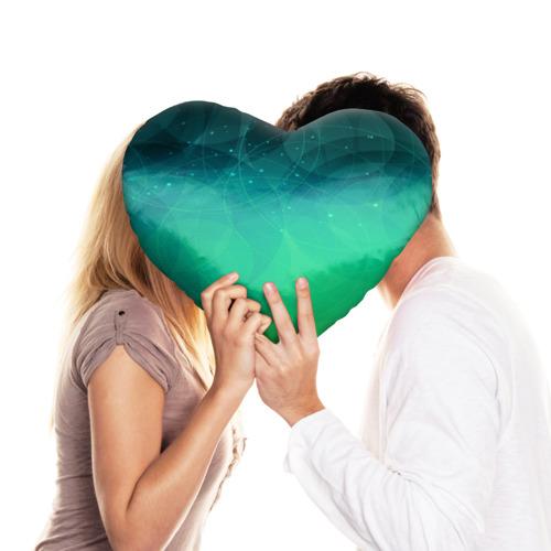 Подушка 3D сердце  Фото 03, ABSTRACT