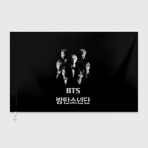 Флаг 3D BTS  Фото 01