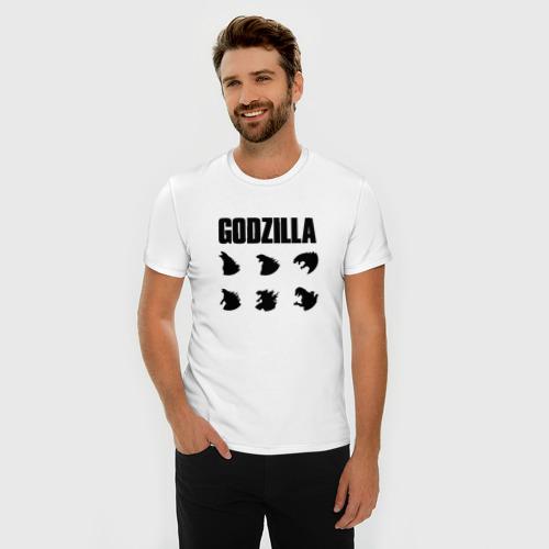 Мужская футболка премиум  Фото 03, GODZILLA