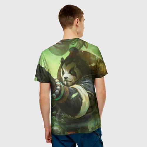 Мужская футболка 3D  Фото 02, Вселенная World Of Warcraft