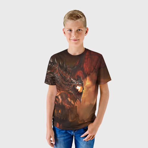 Детская футболка 3D  Фото 01, Смертокрыл