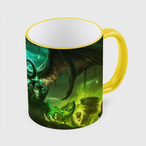 Кружка с полной запечаткой World of Warcraft: Legion