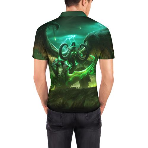 Мужская рубашка поло 3D  Фото 04, World of Warcraft: Legion