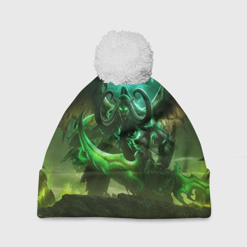 Шапка 3D c помпоном World of Warcraft: Legion