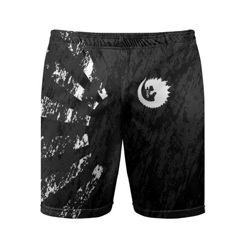Мужские шорты 3D спортивные GODZILLA