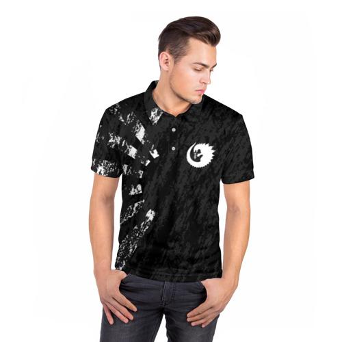 Мужская рубашка поло 3D GODZILLA Фото 01