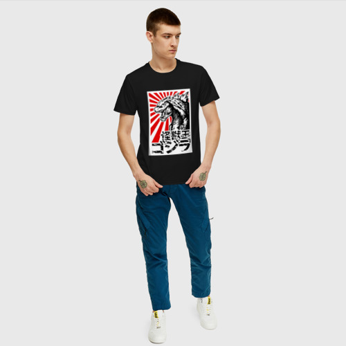 Мужская футболка хлопок  GODZILLA | ГОДЗИЛЛА Фото 01