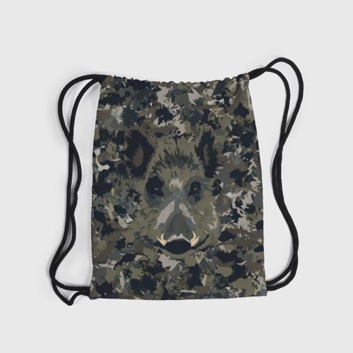 Рюкзак-мешок 3D  Фото 04, Камуфляж с кабаном