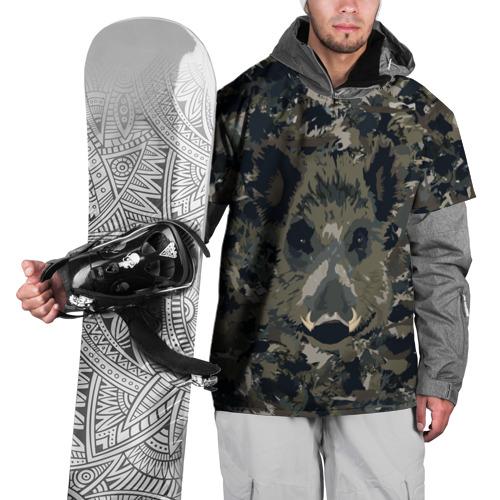 Накидка на куртку 3D  Фото 01, Камуфляж с кабаном