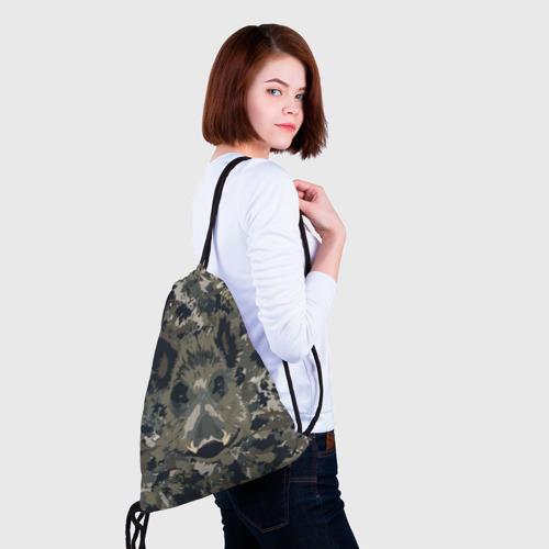 Рюкзак-мешок 3D  Фото 02, Камуфляж с кабаном