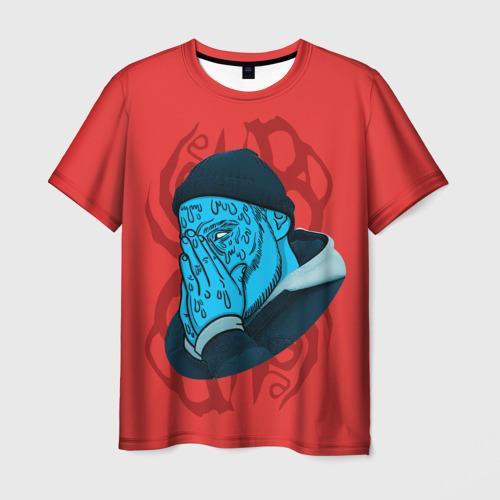 Мужская футболка 3D  Фото 01, Jeembo Grime