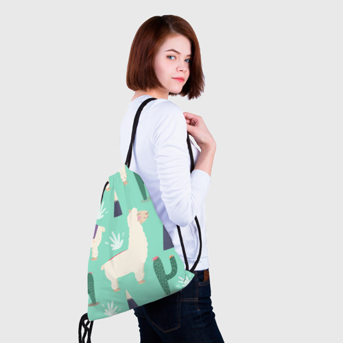Рюкзак-мешок 3D Альпаки Фото 01