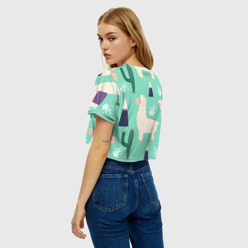Женская футболка Cropp-top Альпаки Фото 01