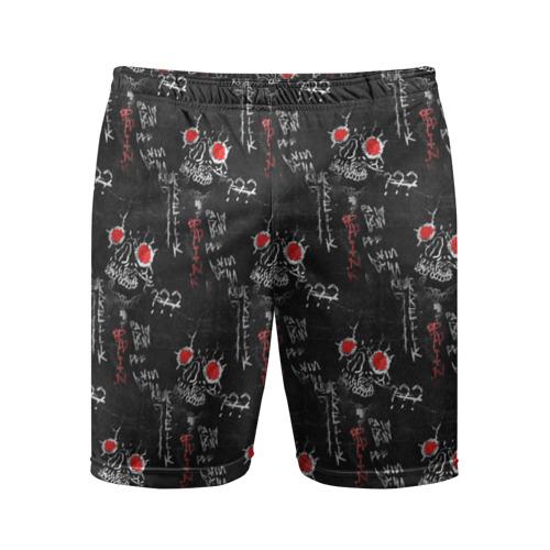 Мужские шорты 3D спортивные JEEMBO.PAINKILLER