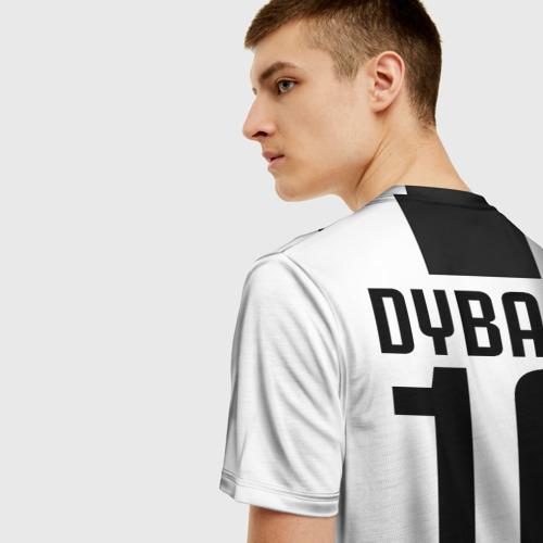 Мужская футболка 3D Дибала Ювентус 18-19 Фото 01