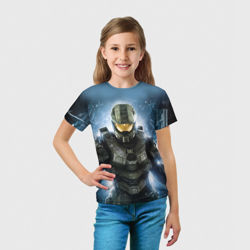 Детская футболка 3D Halo Фото 01