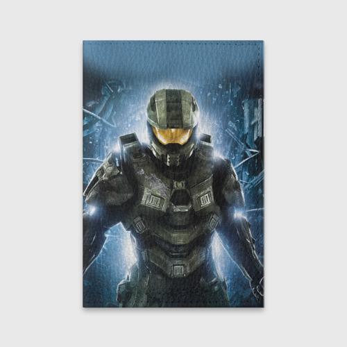 Обложка для паспорта матовая кожа Halo Фото 01