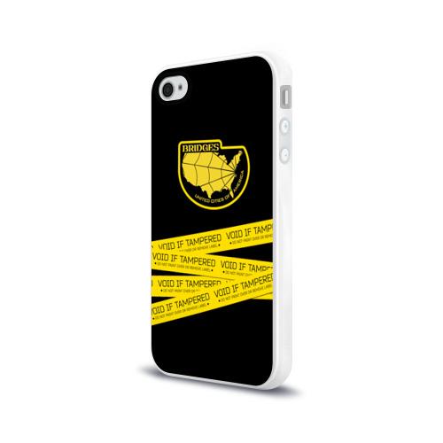 Чехол для Apple iPhone 4/4S силиконовый глянцевый Void if tampered Фото 01