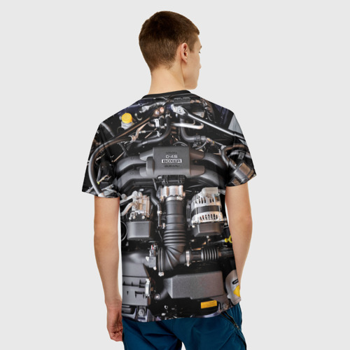 Мужская футболка 3D  Фото 02, Engine