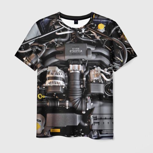 Мужская футболка 3D  Фото 01, Engine