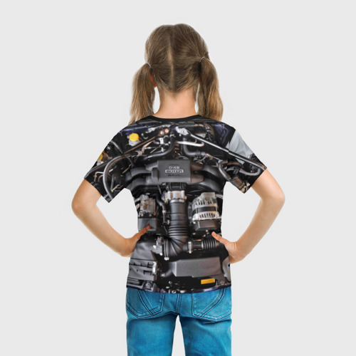 Детская футболка 3D  Фото 04, Engine