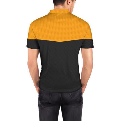 Мужская рубашка поло 3D OVERWATCH LEAGUE UNIFORM 18-19 Фото 01