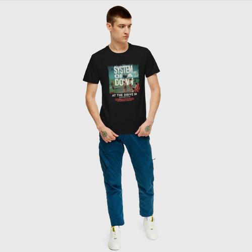 Мужская футболка хлопок System of a Down Фото 01