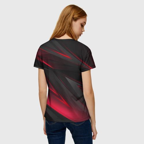Женская футболка 3D GEOMETRY STRIPES Фото 01