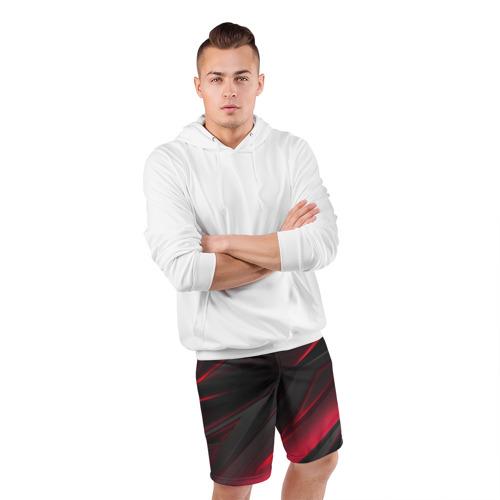 Мужские шорты спортивные GEOMETRY STRIPES Фото 01