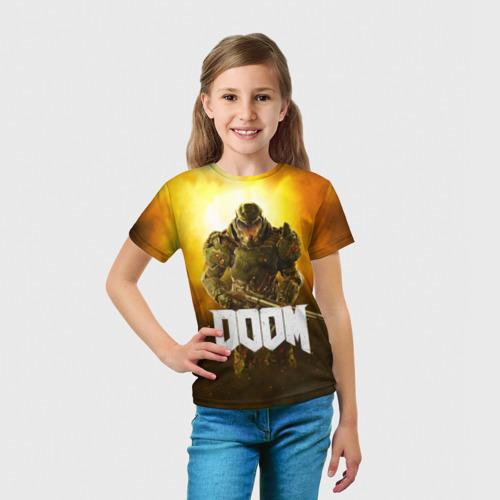 Детская футболка 3D DOOM 2016 Фото 01