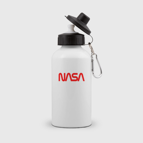 Бутылка спортивная NASA red Фото 01