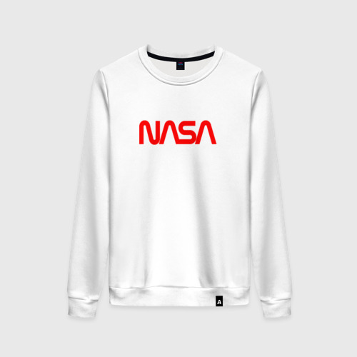 Женский свитшот хлопок NASA red Фото 01