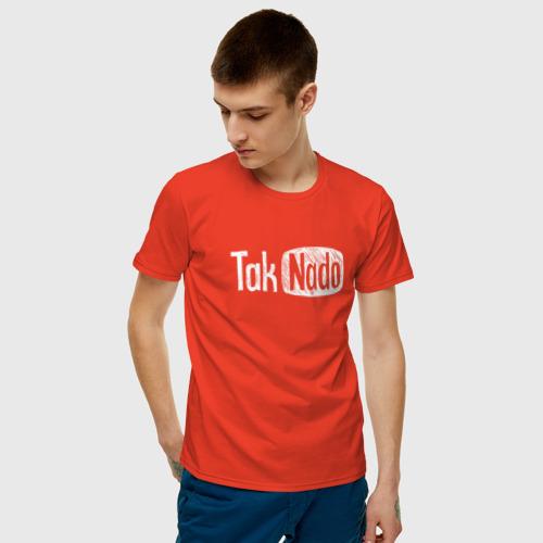 Мужская футболка хлопок Taknado Youtube Фото 01