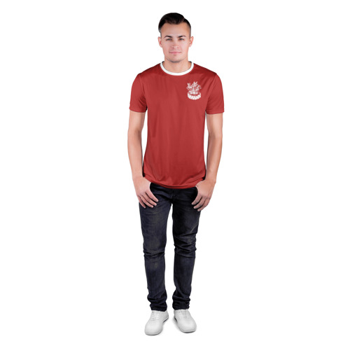 Мужская футболка 3D спортивная  Фото 04, Парусник