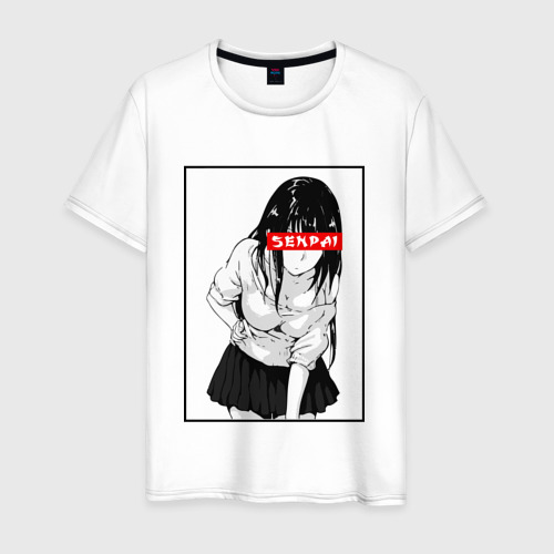 Мужская футболка хлопок SENPAI