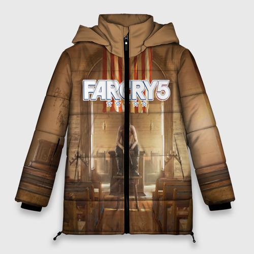 Женская зимняя куртка Oversize Far Cry 5 Фото 01
