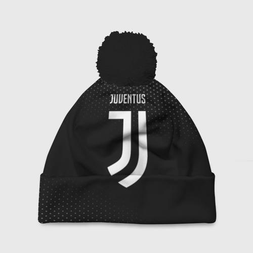 Шапка 3D c помпоном Juventus